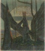 Painting of M.K. Ciurlionis