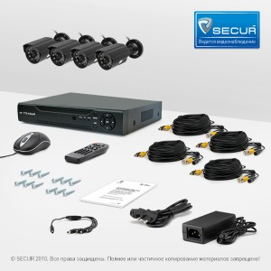 Комплект CnM Secure B44-4D0C KIT. Подходит для самостоятельной установки.