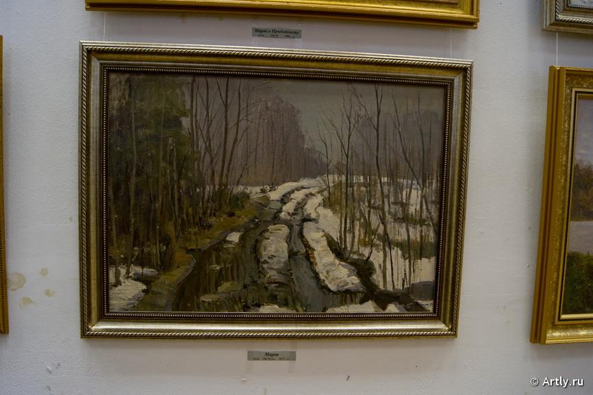 Выставка к 100-летию художника В. Кранца