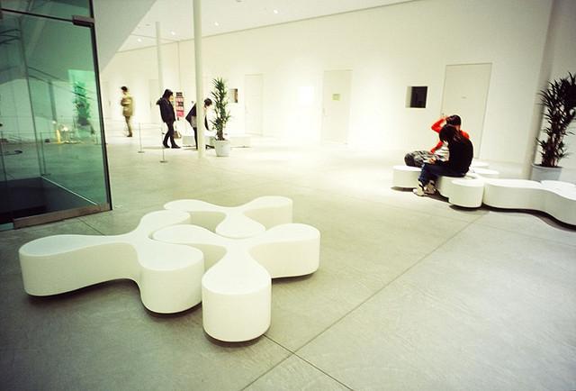 Музей современного искусства 21-й век в Канадзаве